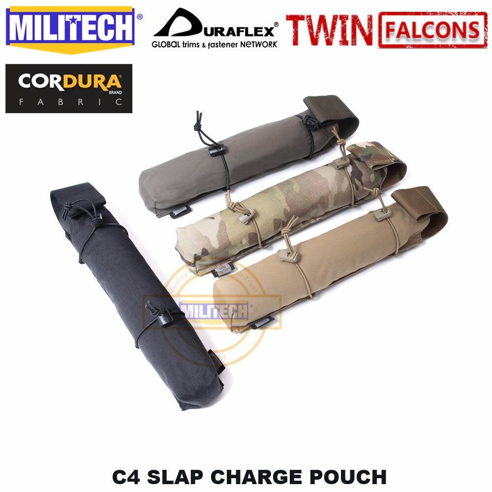 MILITECH TWINFALCONS TW Delustered Eagle Breacher Stri Single C4 TNT Slap Charge Pouch Accessories Bag