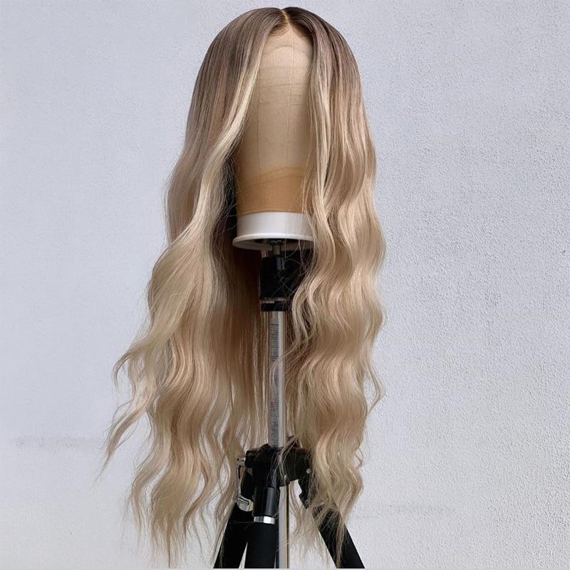 mulheres preplucked resistente ao calor perucas diárias 180% densidade