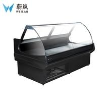Деликатная еда горячий шкаф-витрина для еды гастрономическая витрина морозильная камера для продажи