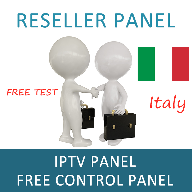 Italia IPTV Reseller Panel For Italy Europe IPTV For Android Smart TV PC Linux