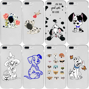 Dalmatians Dog Love Flower Cover Case for Xiaomi Note 10 9 8 SE 9T Pro Lite Explorer