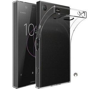 Image 1 - Housse de téléphone arrière en polyuréthane souple Transparent Ultra mince pour Sony Xperia XZ X XA Z2 XA1 XZ1 Z5 Z3 Plus compacte Premium