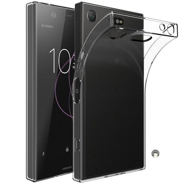 Housse de téléphone arrière en polyuréthane souple Transparent Ultra mince pour Sony Xperia XZ X XA Z2 XA1 XZ1 Z5 Z3 Plus compacte Premium