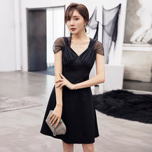 Yigelila/модное летнее маленькое черное платье короткое выше