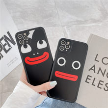 Camera Protection Shockproof Phone drop Case Funny sausage mouth expression apple For iphone 7 8plus x xr xs xsmax 11 11pro max(China)
