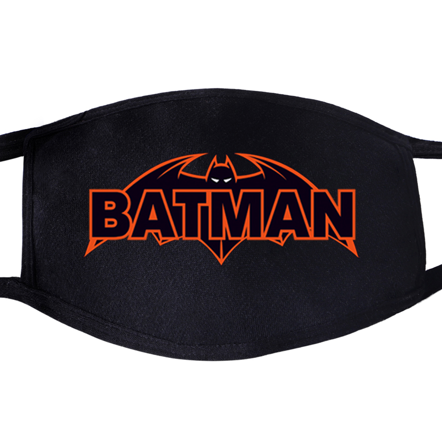 The Avengers Superhero Batman Bruce Wayne Mouth Mask Unisex Mouth Black Anti Dust Quarantine Protective Face Masks Men Women