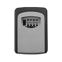 IMPORX New Key Lock Box 4 Digit Combination Wall Mounted Aluminum Alloy Key Safe Box Colourful Security Key Lock Storage Holder size s 4 color combination lock hidden box security lock key lock strongbox steel simulation book new design 118 115 55mm