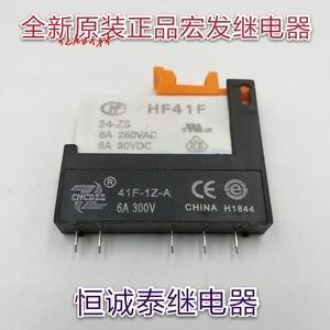 Rơ Le Hongfa HF41F-024-ZS Căn Cứ Ổ Cắm 41F-1Z-A PCB