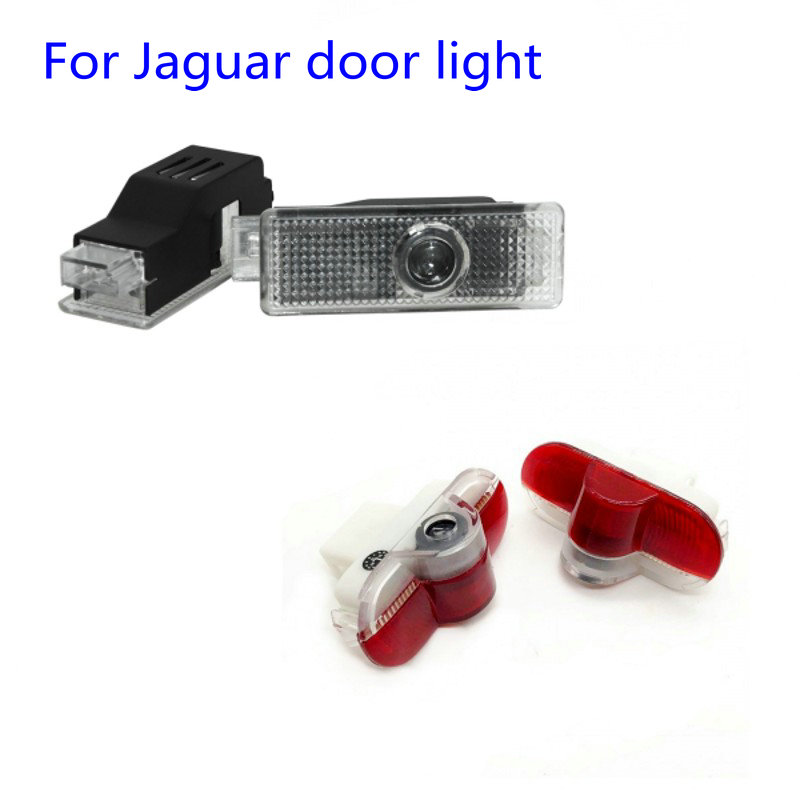 2pcs Car LED Door Logo Light For Jaguar XE F-TYPE X152 XJ X350 X358 X351 XK X150 XKR Ghost Shadow Welcome Lamp 2004-2017 2019