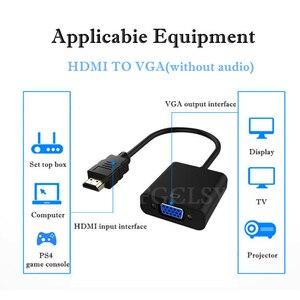 Image 4 - Fgclsy hdmi vga アダプタコンバータオス famale 1080 1080p デジタルアナログビデオオーディオアダプター pc のラップトップタブレットにテレビ