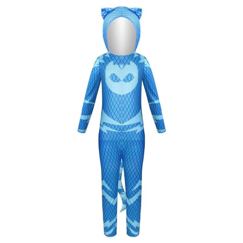 2020 New Halloween children cartoon cat boy costume children hero jumpsuit costume Halloween children costume 2