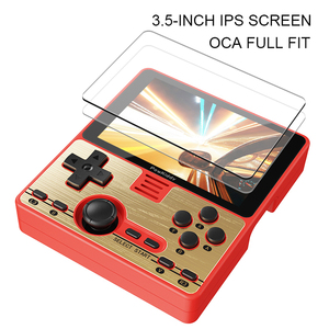 Image 5 - Powkiddy RGB20 Portable Handheld Game Console 3.5inch IPS Screen Mali G31 RK3326 Game Player Built in 4000 Games 3000mAh Battery