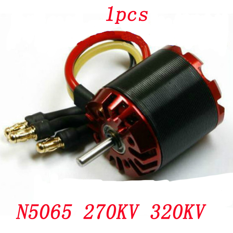 1pcs N5065 Brushless High Power Motor 3-8S Lipo 1665W for RC Model Aircraft Drone Electric Scooter 270KV 320KV Engine Motors image