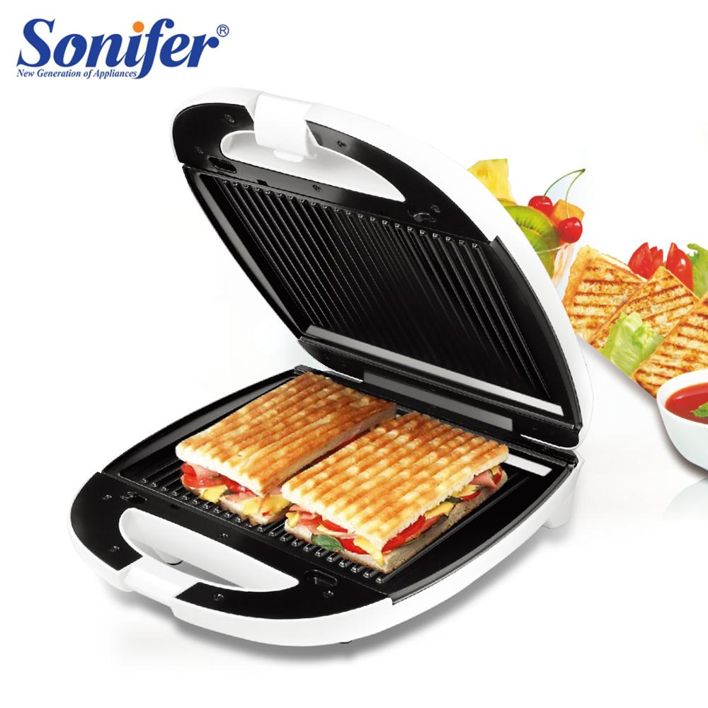 1200W Electric Waffles Maker Sandwich Machine Bubble Egg Cake Oven Kitchen Breakfast Bubble Waffle Donuts Multi-baker Sonifer