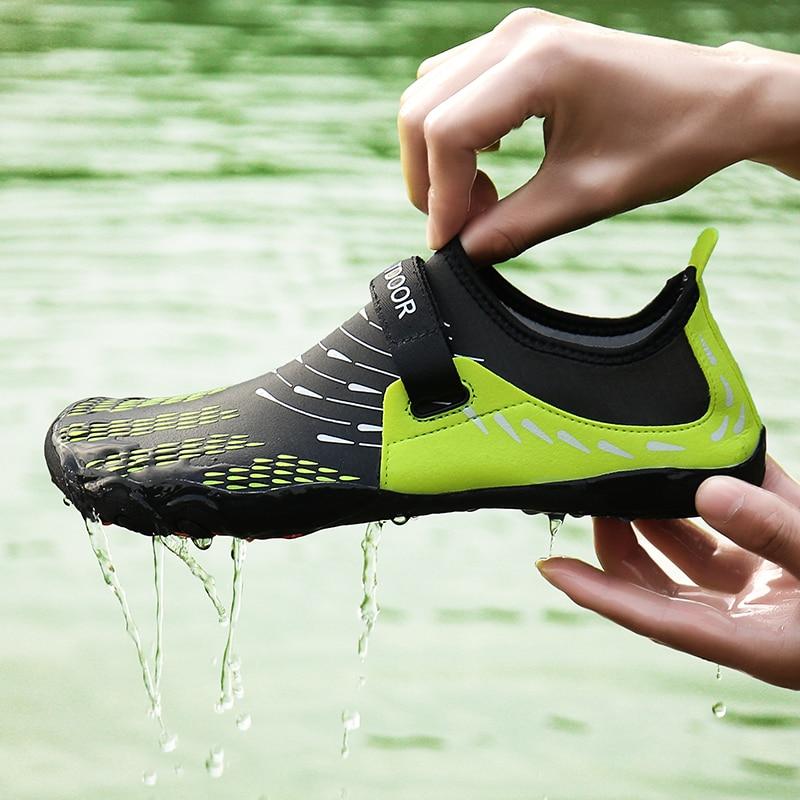 Elastic Quick Dry Hiking Shoes Men Women Footwear Climbing Trekking Sneakers Non-slip Slip-on Beach Wading Shoes Unisex Sneakers