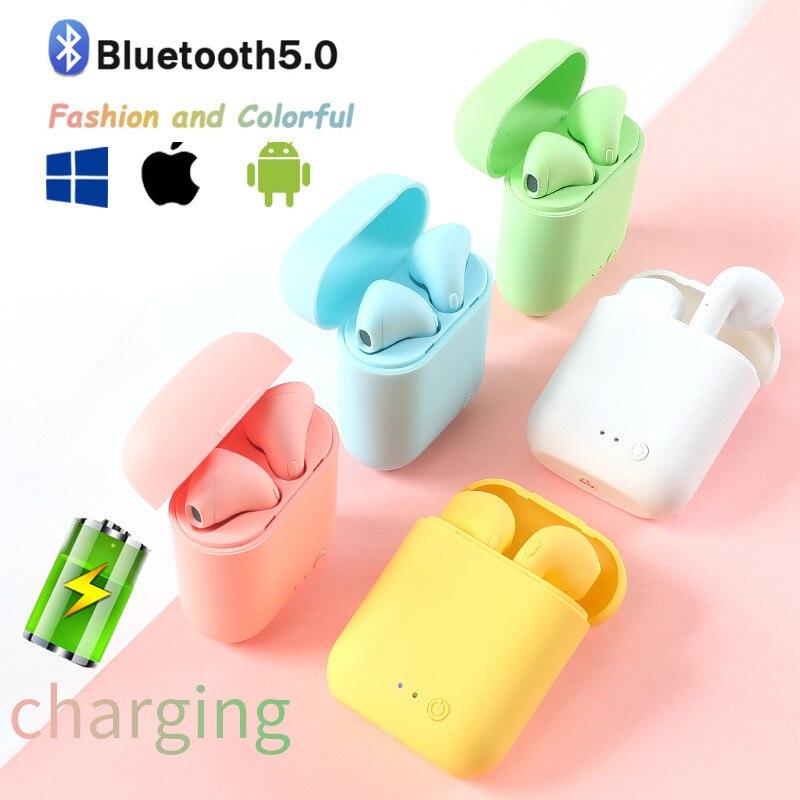 Беспроводные наушники Mini 2 TWS Bluetooth 5,0, Спортивная гарнитура, игровые наушники для Iphone, Samsung, Xiaomi, Oppo, музыкальные наушники Huawei|Наушники и гарнитуры|   | АлиЭкспресс