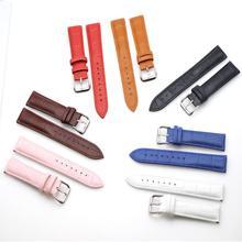 Strap leather strap 12-24 mm strap accessories high quality brown strap plus tools strap billionaire strap