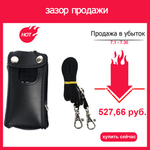 Walkie Talkie Holster Leather Carrying Holder Case For TYT MD380 MD-380 MD 380 Retevis RT3 RT3S DMR Digital Radio Accessories