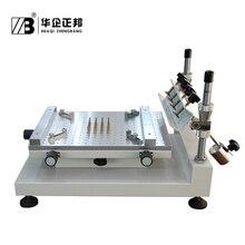 Честное и надежное качество ручной печатной платы шелкотрафаретная печатная машина