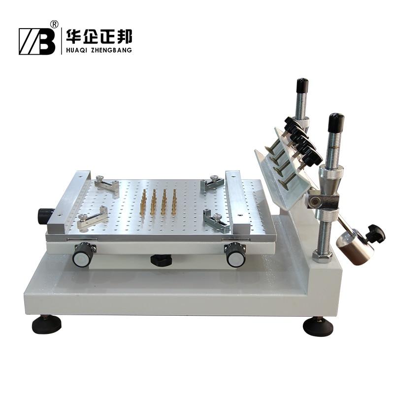 Zhengbang SMT ручной трафарет для печатной платы принтера/ручной печатной платы шелкография машина