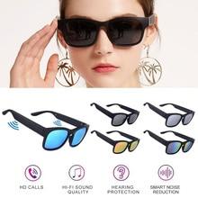 UV400 Smart Glasses Wireless Bluetooth Hands-Free Calling Audio Open Ear Anti-blue Light Lenses IPX7 Intelli gent Sunglasses