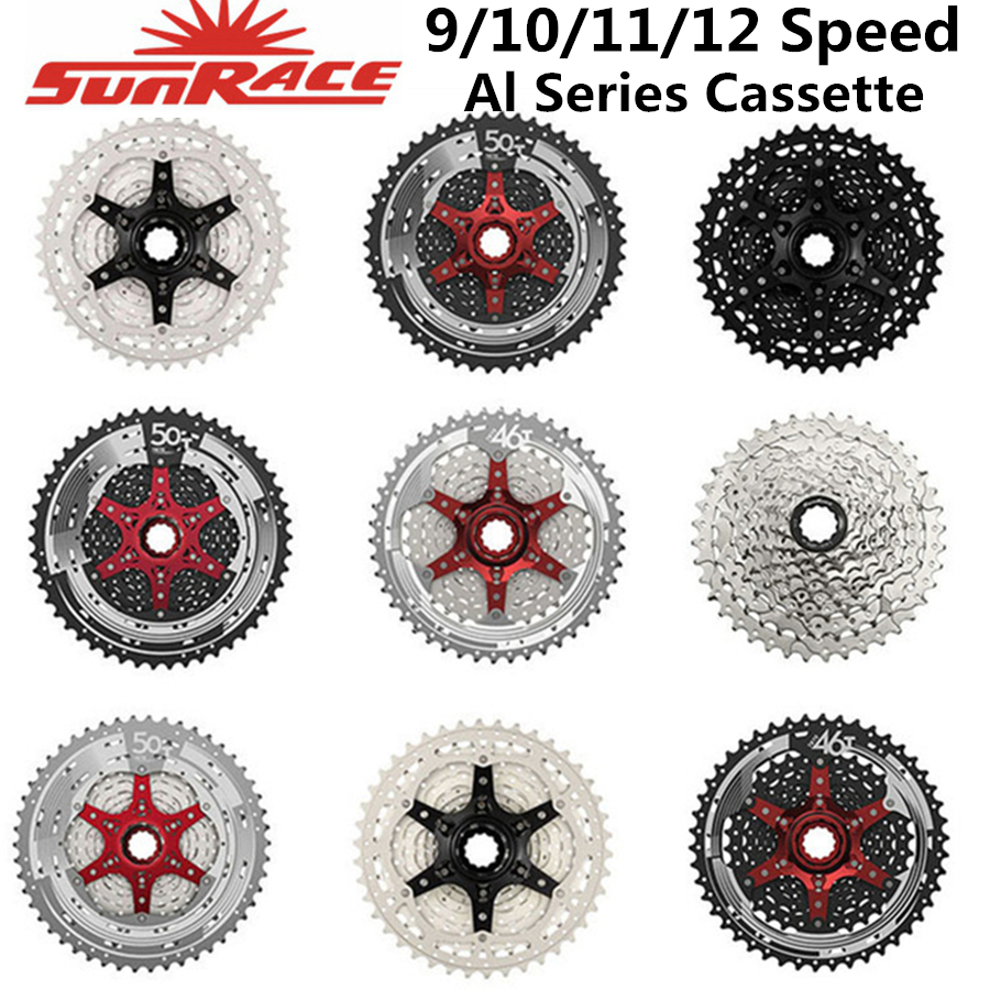 Sunrace All Series <font><b>Cassette</b></font>/9/10/<font><b>11</b></font>/12-speed-<font><b>11</b></font>-<font><b>40</b></font> T/<font><b>11</b></font>-46 T/<font><b>11</b></font>-50 T Csmz90 Csmx80 Csmx8 Csmx3 Csm990 image