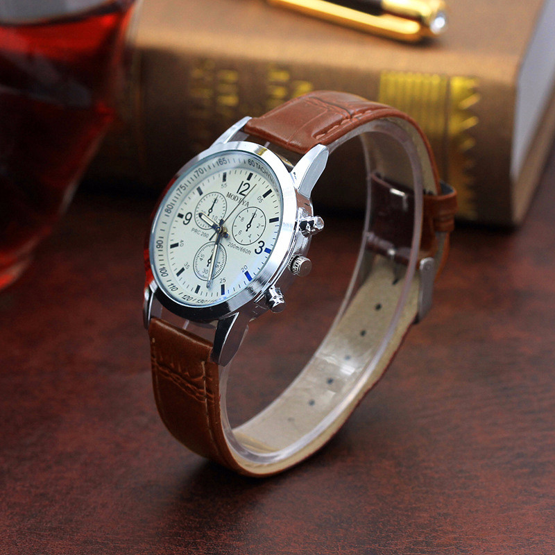 Fashion Band Belt Men Watch Sport Quartz Hour Wrist Analog Watches