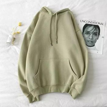 Men's Comfy Pure Hoodies 2020 Autumn Fleece Oversized Hooded Sweatshirt Men Hip Hop Hoodie For Men Classic Hoody Pullover Tops 2