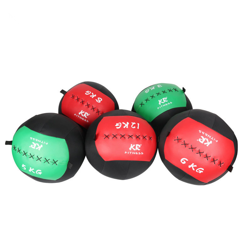 Empty Snatch Wall Balls 35cm Crossfit Medicine Ball Heavy Duty Exercise Kettlebell Lifting Fitness MB Muscle Building