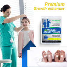 GPGP 60PCS Grow Taller Foot Patch Enhancer Patch Growtaller plaster Patch in Foot Height Growth Foot Patch For Adults and Teen