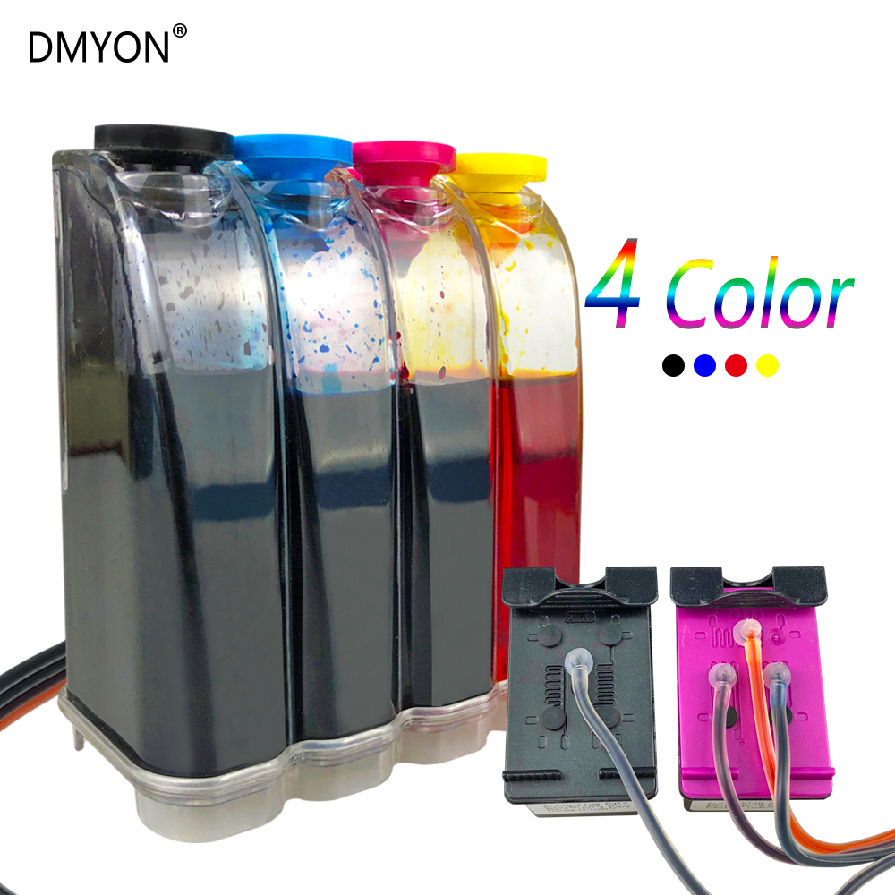 DMYON Replacement for HP122 122XL CH563WN Compatible for HP Deskjet 1000 1050 1050A 1510 2000 2050 2050A 3000 3050