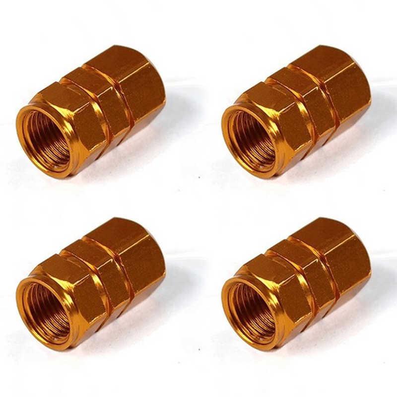 4 Uds para vástago de válvula de neumático de coche tapas de rueda de bicicleta llantas de vástago de válvula de aire tapas de aluminio rueda de coche a prueba de agua válvulas 2020