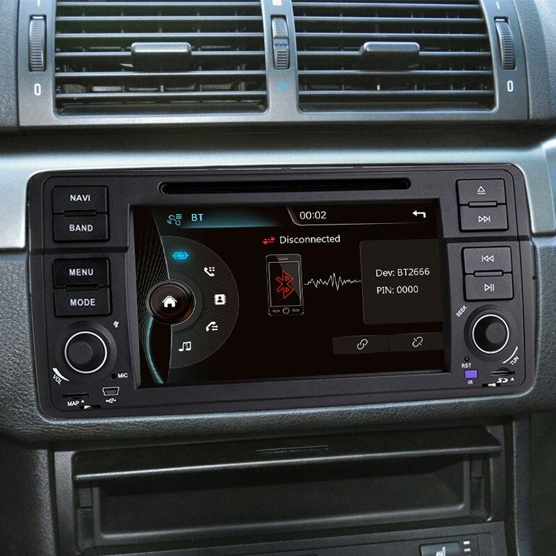 Xonrich1 Din Auto Radio Gps di Navigazione per Bmw E46 M3 Rover 75 Coupe 318/320/325/330 dvd Lettore Multimediale Unità di Testa Stereo Audio - 4