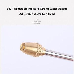 Image 5 - בלחץ גבוה מים אקדח ריסוס מכונית כביסה מכונת wWasher צינור גן ממטרת זרבובית קצף ניקוי מים אקדח עמיד אלומיניום