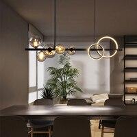 Nordic Led Kronleuchter Für Esszimmer Küche Wohnzimmer Schlafzimmer Anhänger Lampe Moderne Glas Ball G9 Design Hängen Decke Licht