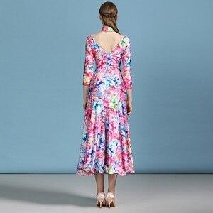 Image 2 - 安い社交ドレスラテンワルツダンスドレス女性スペインドレスフラメンコモダンダンスの衣装タンゴ衣装フォックストロットダンスドレスドレス