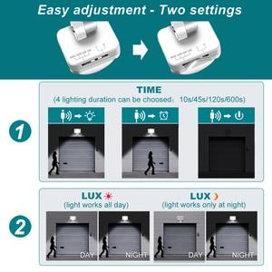 Image 4 - 35W éclairage LED avec capteur de mouvement IP66 LED étanche projecteur lampe réflecteur projecteur extérieur pour jardin