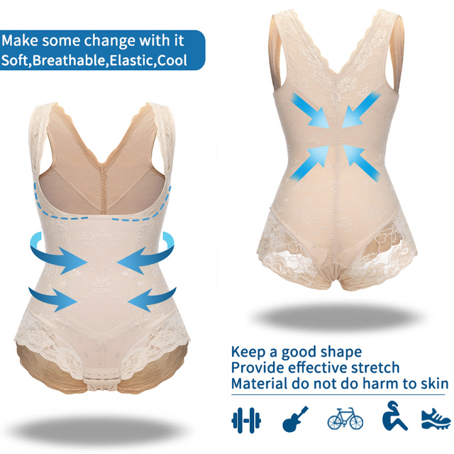 Miss Moly Women Full Body Shaper Waist Reducer Trainer Tummy Slimming Control Panty Butt Lifter Briefs Push Up Shapewear Corset 5