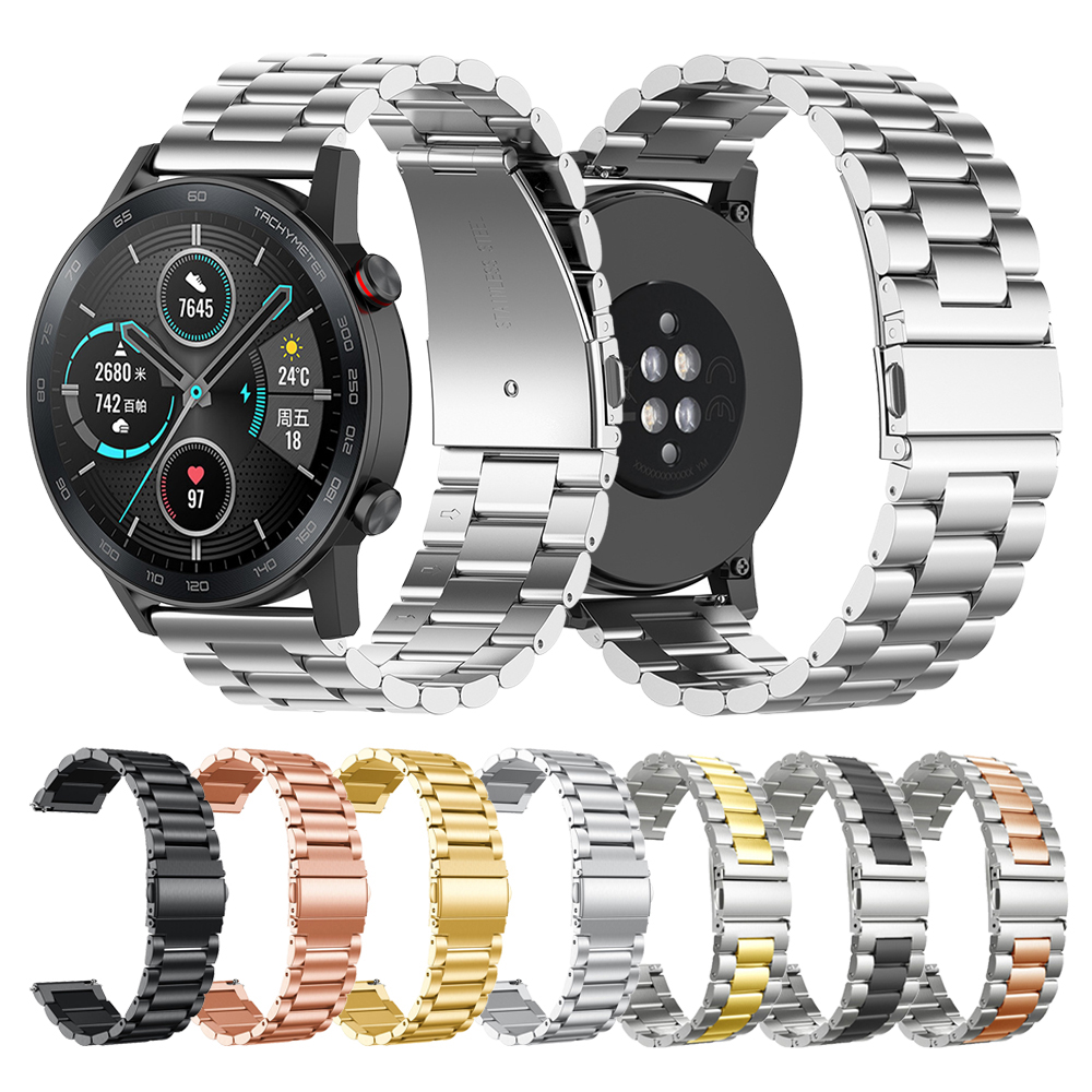 Classic Metal Strap For HUAWEI HONOR Magic Watch 2 46mm 42mm Band Correa For HONOR Magic Watchband Bracelet MagicWatch2 ремешок