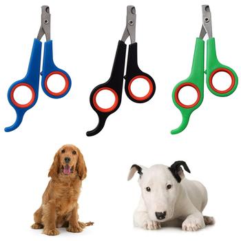1pc obcinacze pazurów dla psa pazur Nailclippers dostarcza koty paznokcie Clipper trymer paznokcie zwierząt domowych pazur nożyczki do strzyżenia sierści Cutter tanie i dobre opinie CN (pochodzenie) STAINLESS STEEL 11 5cm 4 5inch 15 5cm 6 04inch dog nail clippers clippers for cats cat nail cutter