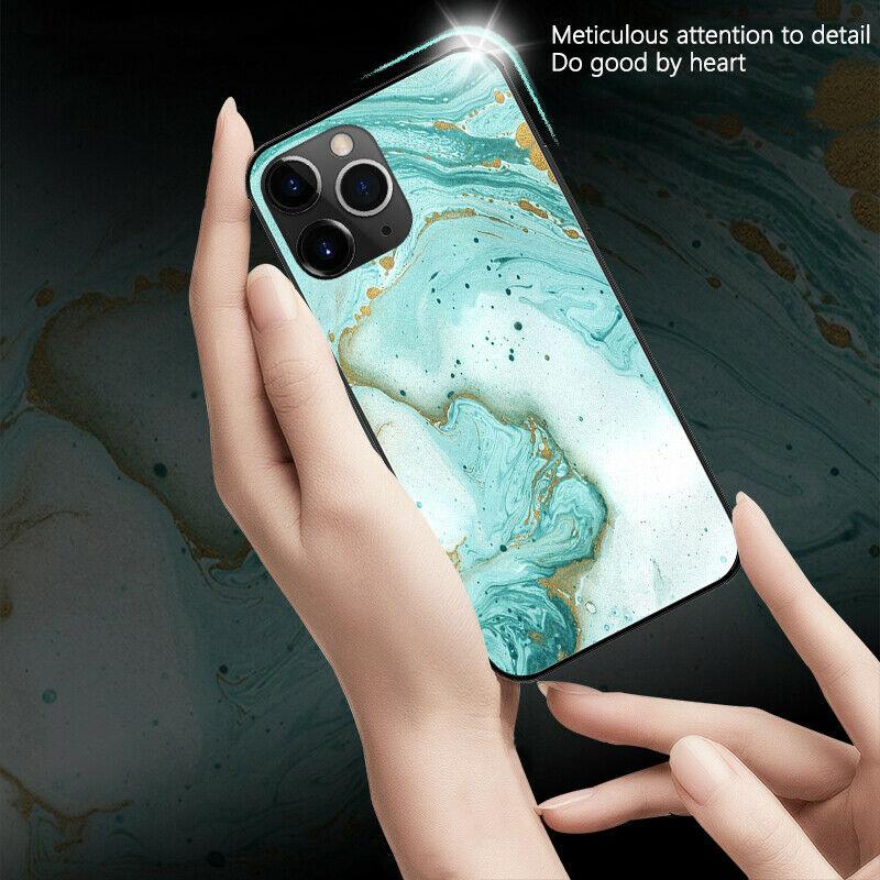 iPhone 12 Mini Marble glass Case
