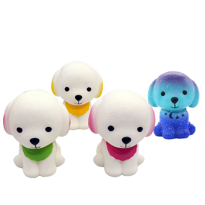 Squishy Cute Dog Squishies Slow Rising Simulation Scented Soft Squeeze Toy Stress Relief Antistress Funny For Kid Gift Toy