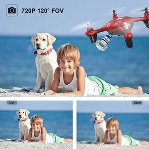 Image 3 - Zangão da câmera de atoyx com câmera hd não 4k mini zangão rc quadcopter fvp wifi com grande angular hd alta altura headless modo de espera