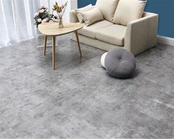 Floor leather thick wear-resistant waterproof pvc self-adhesive floor stickers bedroom cement floor home glue kitchen stickers