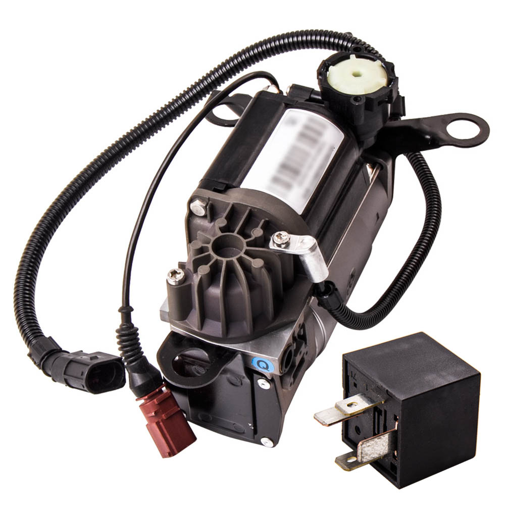 Air Suspension Compressor Pump For <font><b>Audi</b></font> S8 <font><b>A8</b></font> <font><b>D3</b></font> <font><b>4E</b></font> Diesel 10-12 Cylinder 4E0616005E 4154031200 4E0616005A image