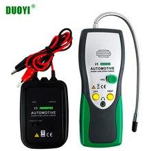 Duoyi dy25 cabo rastreador automotivo curto circuito aberto localizador testador ferramenta de reparo do carro tracer diag 2 cabos fio tipo pk em415pro