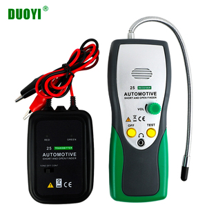 DUOYI DY25 Cable Tracker Automotive Short Open Circuit Finder Tester Car Repair Tool Tracer Diag 2 Wire Cables Type PK EM415pro(China)