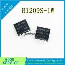 5 adet 10 adet 20 adet B1209S 1W B1209S SIP 4 yeni DC DC güç modülü 12V için 9V