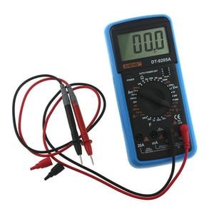 Image 2 - DT9205A כף יד דיגיטלי מודד LCD AC DC אוטומטי טווח כוח מודד מד זרם Ohmmeter התנגדות קיבול מד