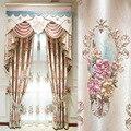 Новые шторы из хлопчатобумажной и льняной ткани с вышивкой  простые шторы  занавески для гостиной  столовой  спальни
